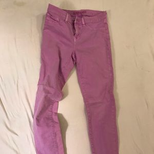 Pink J Brand denim skinnies